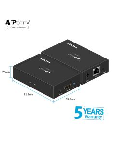Portta® HDMI™ Extender 50m with IR Support 4K@30Hz