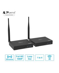 Portta® Wireless HDMI™ Extender 100m